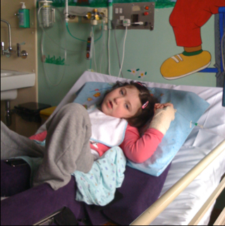 In Hospital with Becky